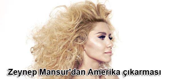 Zeynep Mansur'dan Amerika çıkartması