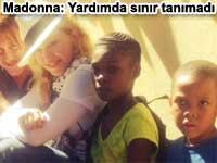 Madonna: Yardımda sınır tanımadı