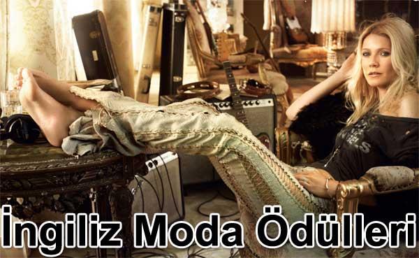 İngiliz moda ödülleri Gwyneth Paltrow sundu   Belgin Elçioğlu yazdı