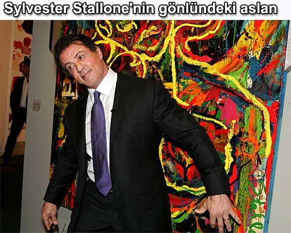 Sylvester Stallone resimleri tabloları sergisi | Belgin Elçioğlu yazdı