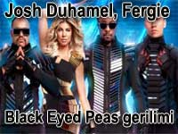 Josh Duhamel, Fergie, Black Eyed Peas gerilimi
