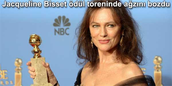 Jacqueline Bisset ödül töreninde ağzını bozdu altın küre ödüllü yabancı dizi izle