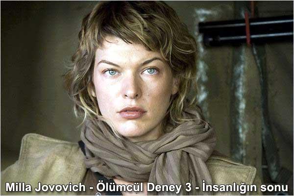 Milla Jovovich - Ölümcül deney 3 - İnsanlığın sonu | Dünyadan Magazin 9-1 Çeviri: Belgin Elçioğlu Belgin Invictus