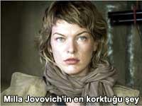 Sinemanın en sert kadınlarından Milla Jovovich'in en korktuğu şeye inanamayacaksınız